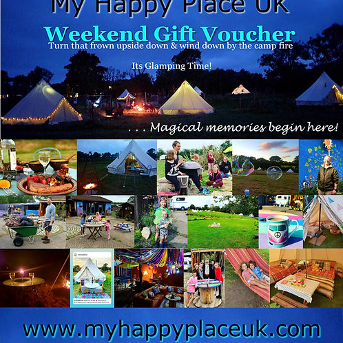MY HAPPY PLACE WEEKEND GIFT VOUCHER