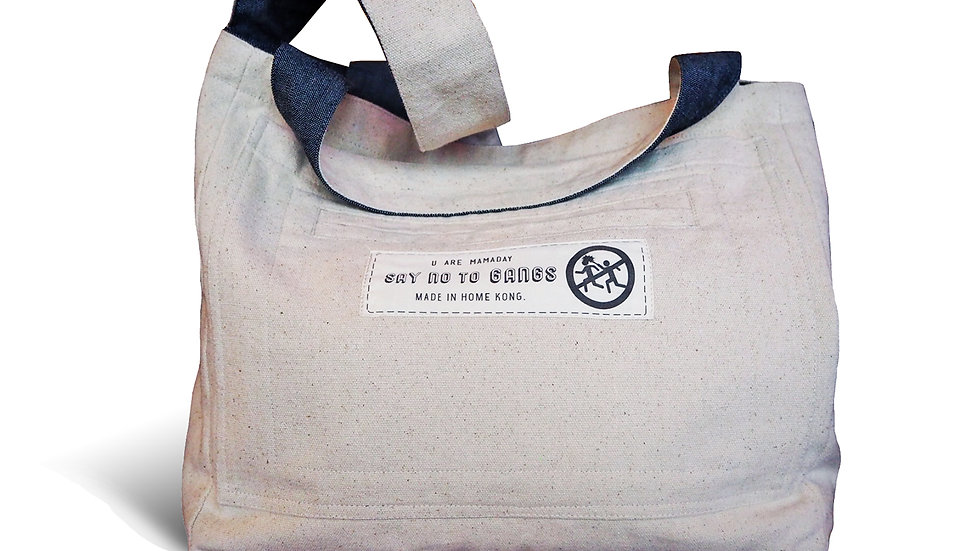 B&W Flip Tote Bag