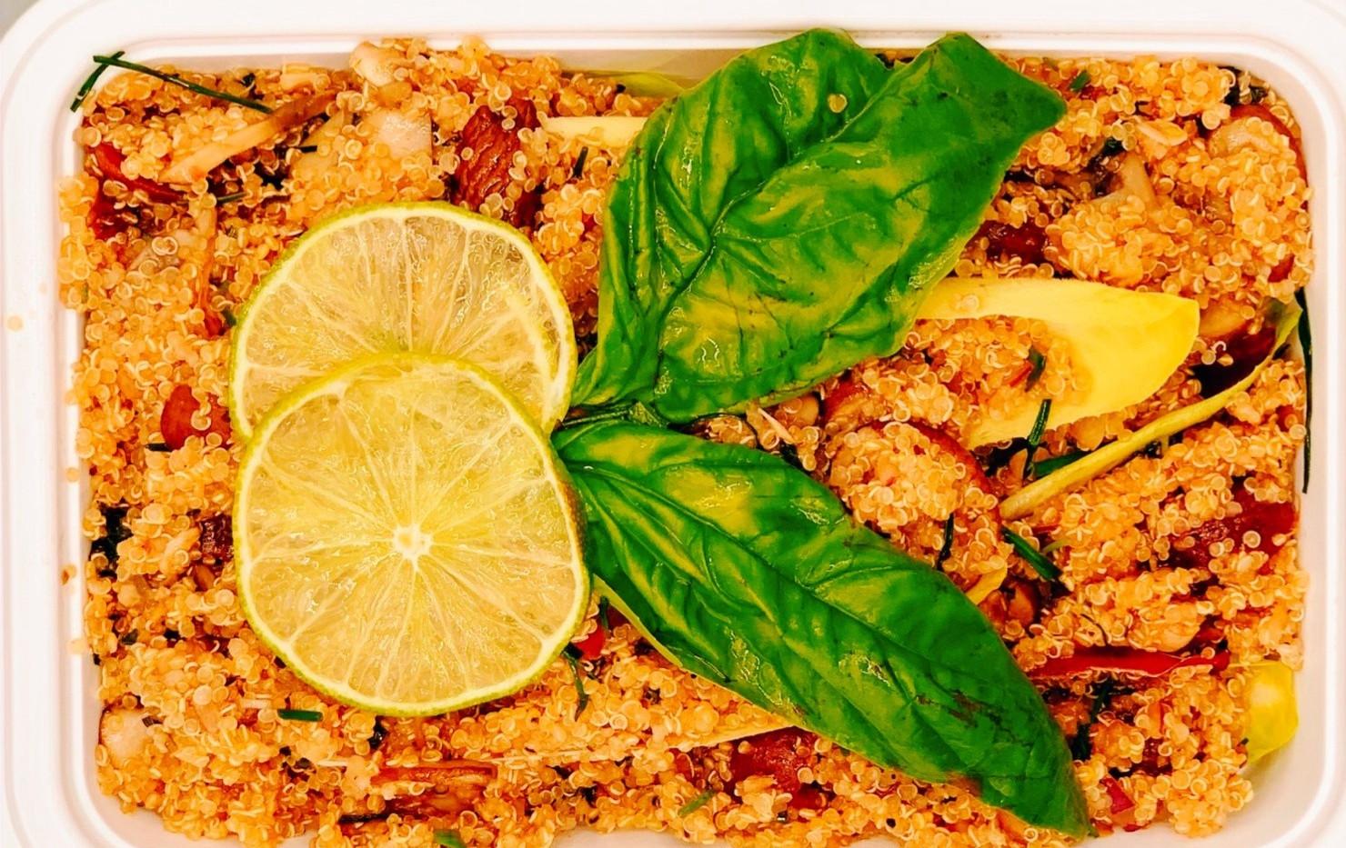 Endive quinoa salad