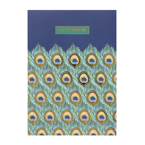A5 Peacock Notebook