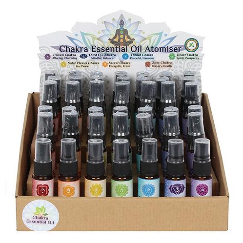 Chakra Essential Oil Atomiser