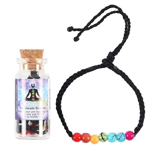 Chakra Bracelet in a Bottle