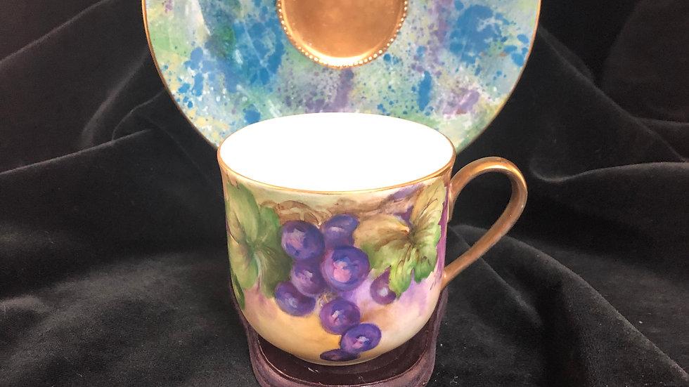 Grape Cup & Saucer Set