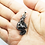 Thumbnail: 925 Sterling Silver 3D Dragon Pendant / Movable / Oxidised / Solid