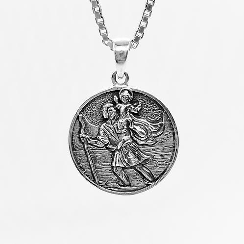 Saint Christopher Protection Pendant