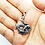 Thumbnail: 925 Sterling Silver Dragon Pendant / Oxidised / Solid
