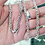 Thumbnail: 26 Inch Byzantine Link Necklace Chain / 925 Sterling Silver, Solid