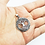 Thumbnail: 925 Sterling Silver Celtic Tree of Life Circle Pendant / Oxidised / Solid
