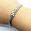Thumbnail: 925 Sterling Silver Classic Foxtail link Bracelet /Solid/Secure clasp/Oxidised