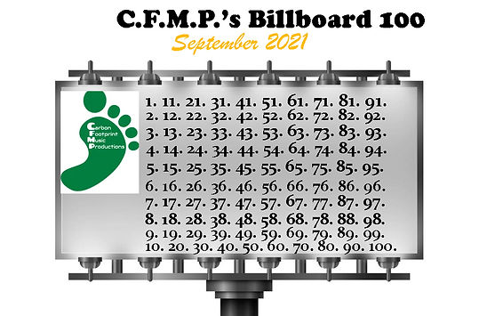 C.F.M.P.'s PRE Billboard 100 Submission List - September 2021