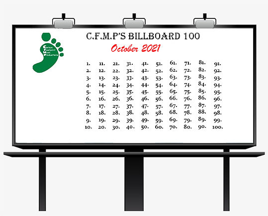 C.F.M.P.'s PRE Billboard 100 Submission List - October 2021