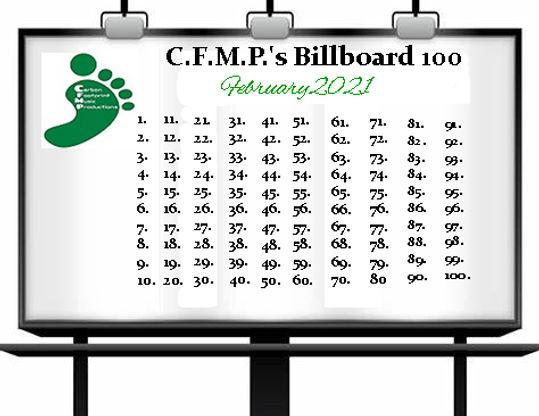 C.F.M.P.'s Billboard 100 - February 2021