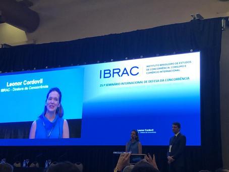 Fim do mandato da nossa co-Fundadora Leonor Cordovil como Diretora de Concorrência do IBRAC