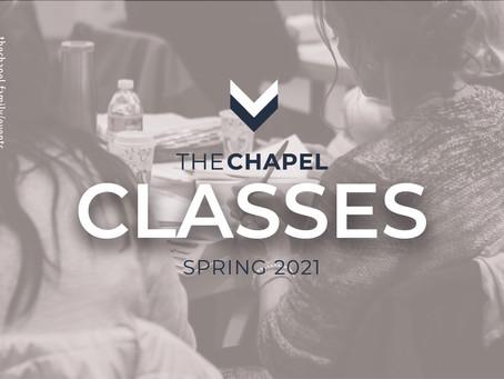 CLASSES - Spring 2021