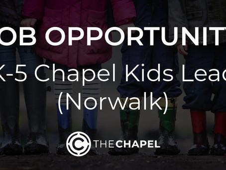 K-5 CHAPEL KIDS LEAD (Norwalk)