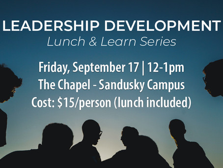 Leadership Development: Lunch & Learn Series