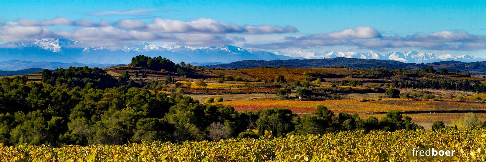 paysade d'Aude en automne