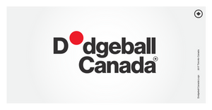 As we work to further legitimize and bring awareness to dodgeball in Canada, we're very excited to unveil our new identity! The concept of the unexpected rush of dodgeball inspired the logo design. Every time the logo is used, the red ball will appear in a different place. So, what do you think!?