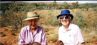 Nancy Kingsland(L) and Alison Jackson(R)