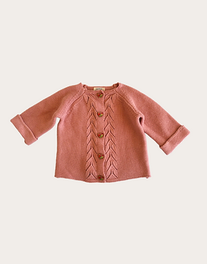 Harper Cardigan - Dusty Rose