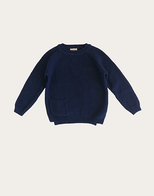 Carter Pullover - Navy Blue