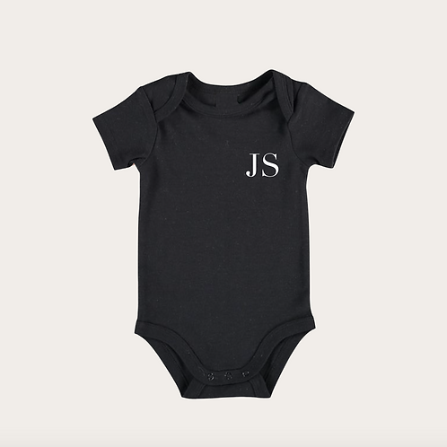 Classic Initial | Personalised Baby Grow