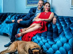 Meet Miami's Most Philanthropic Power Couple, David and Leila Centner