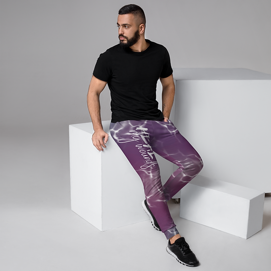 Heal My Wounds Abstract Joggers