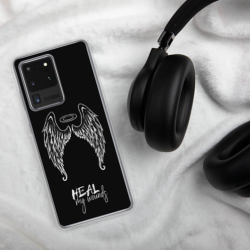 """Angel"" Heal My Wounds Samsung Case"
