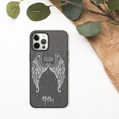 """Angel"" Heal My Wounds Biodegradable iPhone case"