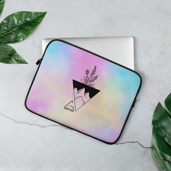 Cotton Candy Revolution Laptop Sleeve