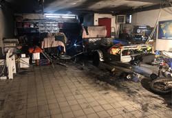 INCENDIO ACCIDENTALE MOTOVEICOLO DB PERI