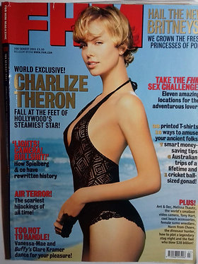 FHM #138 2001 100 Sexiest - Charlize Theron, Clare Kramer, Vanessa-Mae