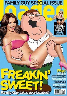 Loaded June 2011 -  Billie Faiers, Family Guy, Holly Peers, Gal Gadot