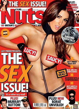 Nuts 24-30 June 2011 Lucy Pinder Sex Issue, Emma Frain, Megan Coxx