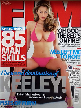 FHM May 2007 #209 - Keeley Hazell, Melissa George, Angellica Bell