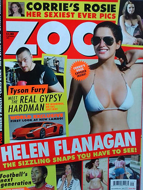 Zoo 4-10 March 2011 Helen Flanagan Stina Sanders