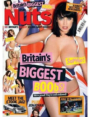 Nuts 20-26 May 2011 Britain's Biggest Boobs, Peta Todd, Sophie Howard