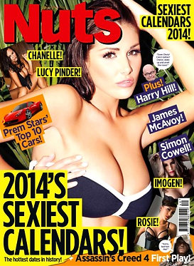 Nuts 4-10 Oct 2013 Lucy Pinder Chanelle Hayes Nude Mellisa Clarke Lucy V