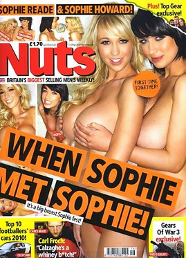 Nuts 23-29 April 2010 Sophie Howard and Sophie Reade Naked Special