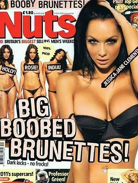 Nuts 8-14 Oct 2010 Jessica-Jane Clement Sam Faiers Topless