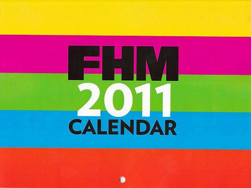 FHM Calendar 2011 Abbey Clancy Kelly Brook Hannah Tointon  Frankie Sandford