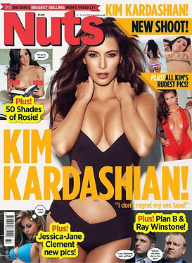 Nuts 14-20 Sept 2012 Judge Dredd, Kim Kardashian, Rosie Jones, Karl Urban