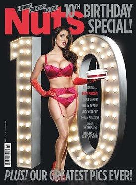 Nuts 24-30 Jan 2014 Lucy Pinder Birthday Issue Lucy Collett Rhian Sugden