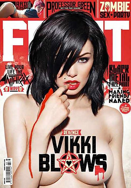 Front 160 Sept 2011 Vikki Blows Mark Webb Emma Howes Alex Sim-Wise