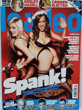 Loaded Jan 2010 #189 Keeley Hazell, Rosie Jones, Carmen Electra, Amy Green