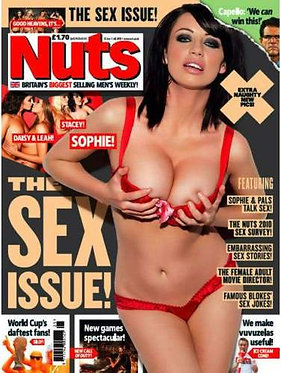 Nuts 25 June - 1 July 2010 Sophie Howard Sex Issue Daisy Watts