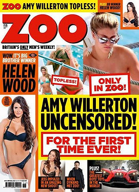 Zoo 5-11 Sept 2014 Jess Impiazzi naked Helen Wood Amy Willerton