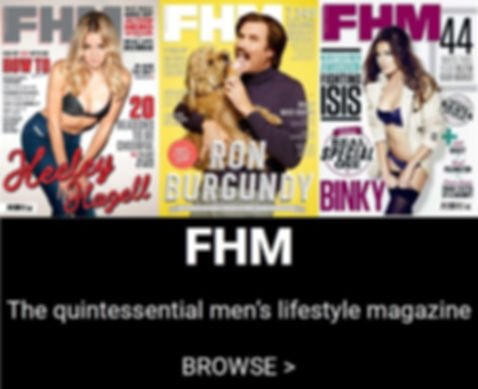 BUY FHM BACK ISSUES ONLINE brand new sho
