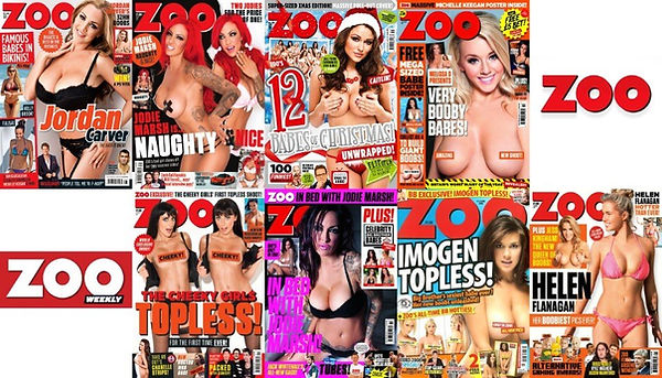 Back issues of classic vintage Zoo weekl